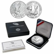 US West Point Mint 2011 September 11 National Silver Medal 9-11 10th Anniversary