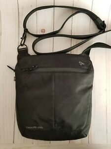Travelon Crossbody Anti-theft Black Bag Women's