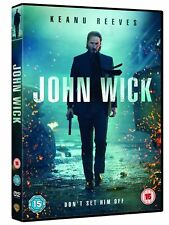 John Wick (DVD) Keanu Reeves DVD Action Movie Thriller Film Breathtaking Crime