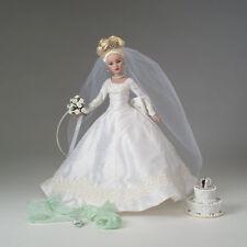 Tonner Tiny Kitty Collier FOREVER Yours Cappello da sposa Box Set bionda