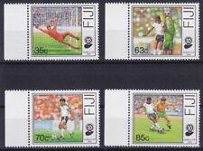 Fidschi / Fiji Mi-Nr. 606 - 609 **, Fußball WM / World Cup 1990 (12 ME)