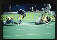 1990 RB Lewis Tillman #34 - New York Giants - Vtg NFL Football 35mm Slide