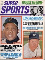 1969 (May) Super Sports, Baseball magazine, Mickey Mantle, Willie Mays ~ VG