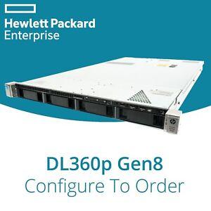 "HP DL360p Gen8 G8 Konfigurierbare 1U 3.5 "" Server: 2x Xeon 8Core 64GB RAM P420"