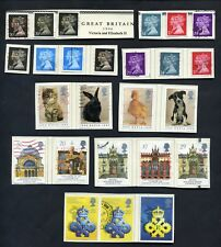Lot of 47 stamps, Uk, 1990 Scott Identified 7 Complete Sets