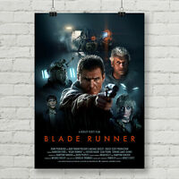 Blade Runner alternative movie poster canvas print