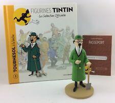 Collection officielle figurine Tintin Moulinsart 03 Professeur Tournesol bêche