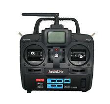 Emisora RC de 2.4GHz de 6 Canales con emisor y receptor Avión y Helicoptero 2695