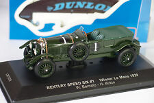 IXO BENTLEY SPEED SIX #1 WINNER LE MANS 1929 1:43