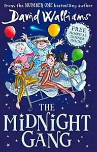 The Midnight Gang by Walliams, David Book The Cheap Fast Free Post