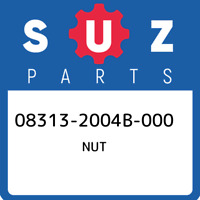 08313-2004B-000 Suzuki Nut 083132004B000, New Genuine OEM Part