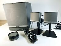 Bose Companion 3 Series II Multimedia Speaker System 2.1 - Mint Condition