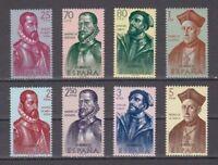 ESPAÑA (1962) MNH NUEVO SIN FIJASELLOS SPAIN - EDIFIL 1454/61 FORJADORES