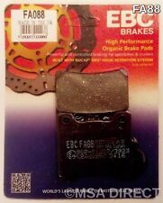 Yamaha YZF1000 Thunderace (1996 to 2002) EBC Organic REAR Disc Brake Pads (FA88)