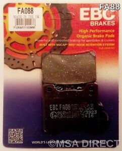 EBC Organic REAR Disc Brake Pads Fits YAMAHA YZF1000 THUNDERACE (1996 to 2002)