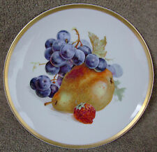 """Jaeger & Co. Germany Orchard Salad Plate Pear 7 3/4"""""""