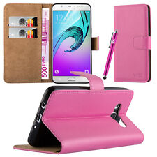 Flip Leather Wallet Book Case Cover Pouch for Various Mobile Phone Screen Guard Samsung Galaxy S7 Baby Pink