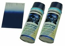 1966-81 Corporate FORD BLUE High Temp Engine Enamel Spray Paint 2 cans