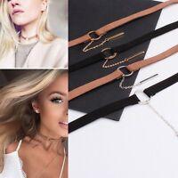 New Cool Velvet Charm Pendant Choker Necklace Gothic Handmade Retro