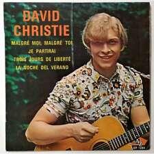 David Christie Trois Jours De Liberté +3 - 45T (EP 4 titres)