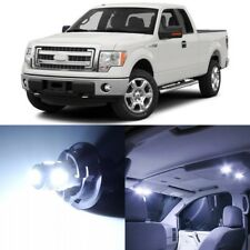 13 x Xenon White Interior LED Lights Package For 2004-2015 Ford F150 F-150 +TOOL