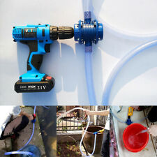 Heavy Duty Self-Priming Hand Electric Drill Powered Water Pump Home Garden Use❤❤