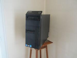 ordinateur pc de bureau lenovo M90p , core i5 ,RAM 8go ,nvidia geforce 310