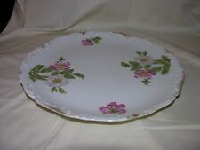 "LARGE Vintage T & V LIMOGES France HAND PAINTED 12 5/8"" PLATTER"