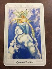 Aleister Crowley Thoth Tarot Small Deck Queen Of Swords INDIVIDUAL CARD Magik