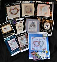 Wedding Day Records Sampler Cross Stitch Instructions & Photo ONLY~Your Choice