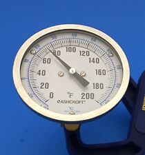 New listing Ashcroft Temperature Gage( Range 0/200 Fahrenheit) Made in U.S.A.