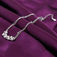Bigiotteria donna - elegante bracciale placcato argento sfere / perle brillanti