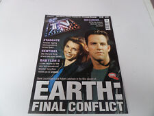revue TV zone # 111 Gerry Anderson Babylon 5 the sentinel Amanda Tapping