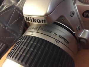 Macchina Fotografica Nikon F55 corpo Kit A Rullino[ Fotocamera Reflex Analogica