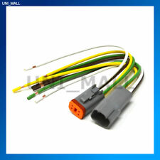Deutsch DT 4-Pin Pigtail Kit, 14AWG Pure Copper GPT Wire, Made in USA
