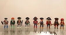 PLAYMOBIL PIRATES FIGURE COLLECTION BUNDLE LOT.
