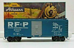 BEV-BEL #459 HO SCALE RF & P #2801 RICHMOND FREDRICKSBURG & POTOMAC 40' BOX CAR