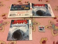 Jaws: Ultimate Predator for Nintendo 3DS / RARE / Complete / Free Shipping!!