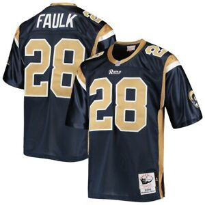 St Louis Rams Marshall Faulk Mitchell & Ness NFL 2000 Authentic Player Jersey