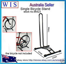 Black Bike Stand Floor Sport Cycling Bicycle Bike Single Floor Parking Rack96423