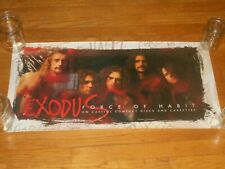 Exodus force of habit 15 x 30 Promo Poster original 1992 capitol