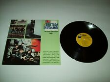 THE BRITISH INVASION VOL. 1 RHINO US NM VINYL LP THE KINKS, ZOMBIES, YARDBIRDS