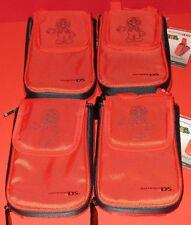 Lot of 4 Super Mario 3DS-3DSXL-DSi-DSiXL Transporter Cases - *New! *Free Ship!