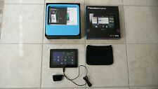 BlackBerry PlayBook 32GB, Wi-Fi, LTE, 7-inch with charger; Bundle