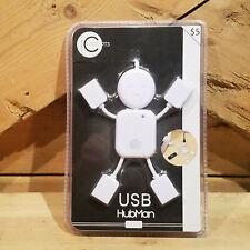 iConcepts White Usb Hub Man by Sakar Brand New - Swanky Barn