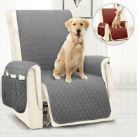 Recliner Sofa Cover Quilted Couch Covers Protector Slipcovers  Pet Dog Mat
