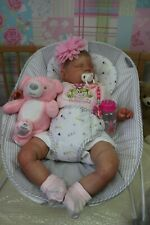 """REALISTIC REBORN TODDLER DONNA RUBERT 24"""" SWEETIE BY SUNBEAMBABIES BABY DOLL"""