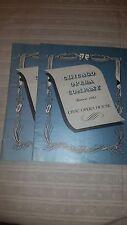 1941 Chicago Opera Company Season Program lot of 2