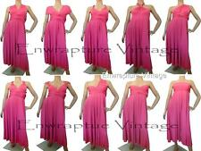 FULL LONG LENGTH BRIDESMAIDS/WEDDING MAXI CONVERTIBLE DRESS WRAP SZ: US 0-14