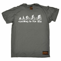 Cycling Is For Life T-SHIRT tee jersey funny birthday gift 123t present for him
